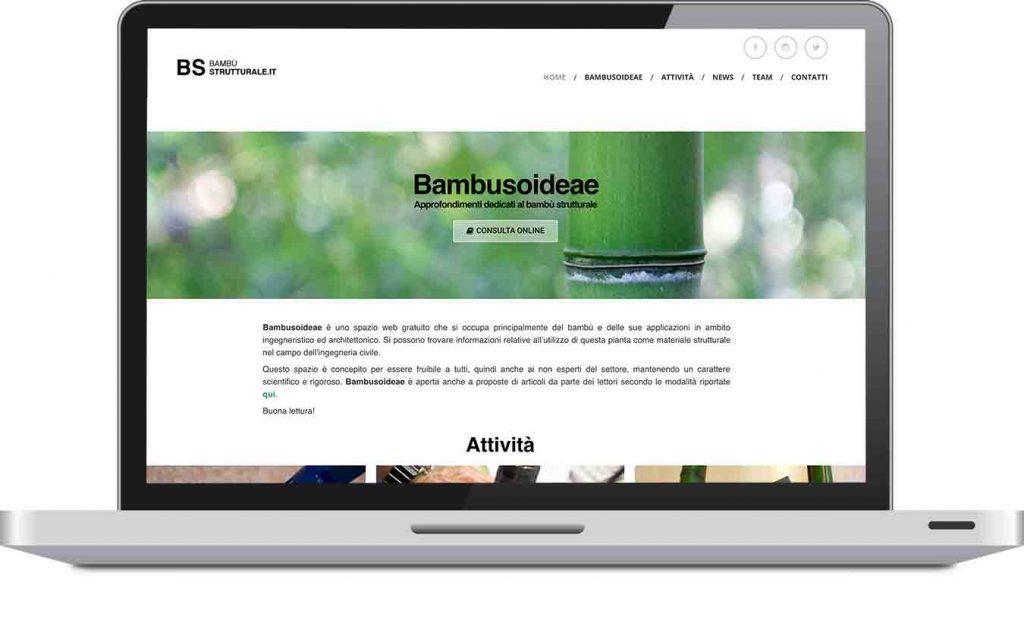 Sito web Bambustrutturale.it