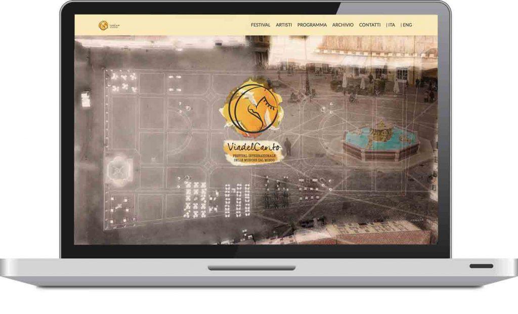 Sito web viadelcantofestival.it