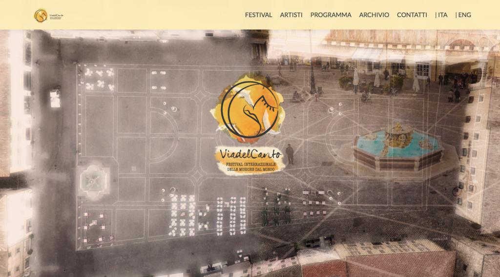 sito web festival via del canto