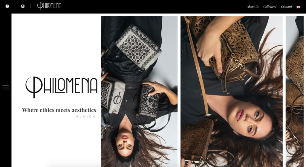 creativespot sito web philomenabrand
